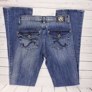 Rock & Republic Kasandra Bootcut Flap Pocket Jeans